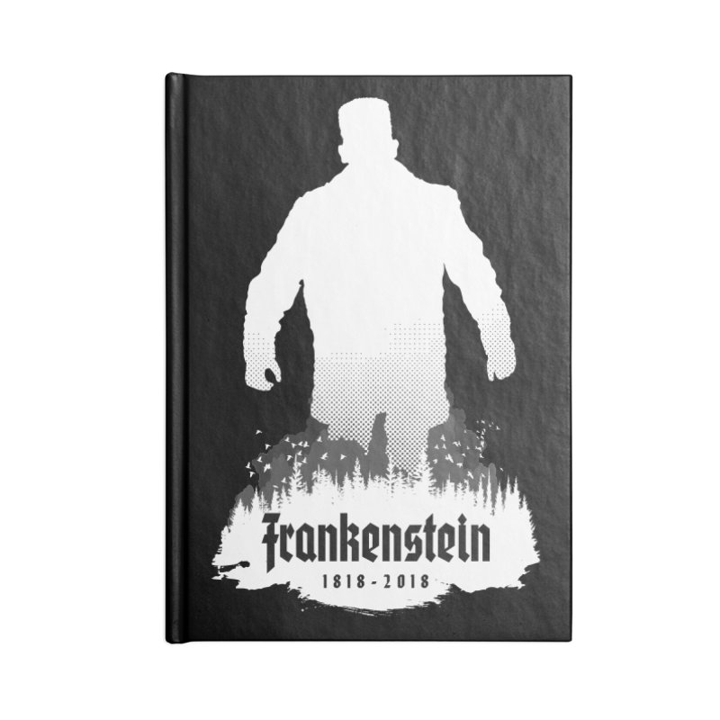 Frankenstein 1818-2018 - 200th Anniversary INV Accessories Notebook by Grandio Design Artist Shop