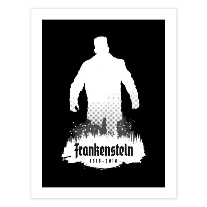 Frankenstein 1818-2018 - 200th Anniversary INV Home Fine Art Print by Grandio Design Artist Shop