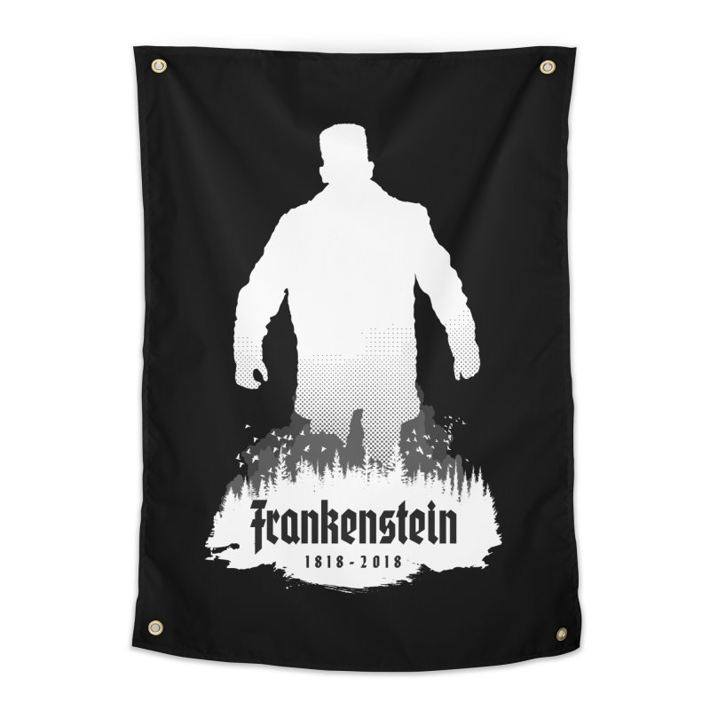 Frankenstein 1818-2018 - 200th Anniversary INV Home Tapestry by Grandio Design Artist Shop