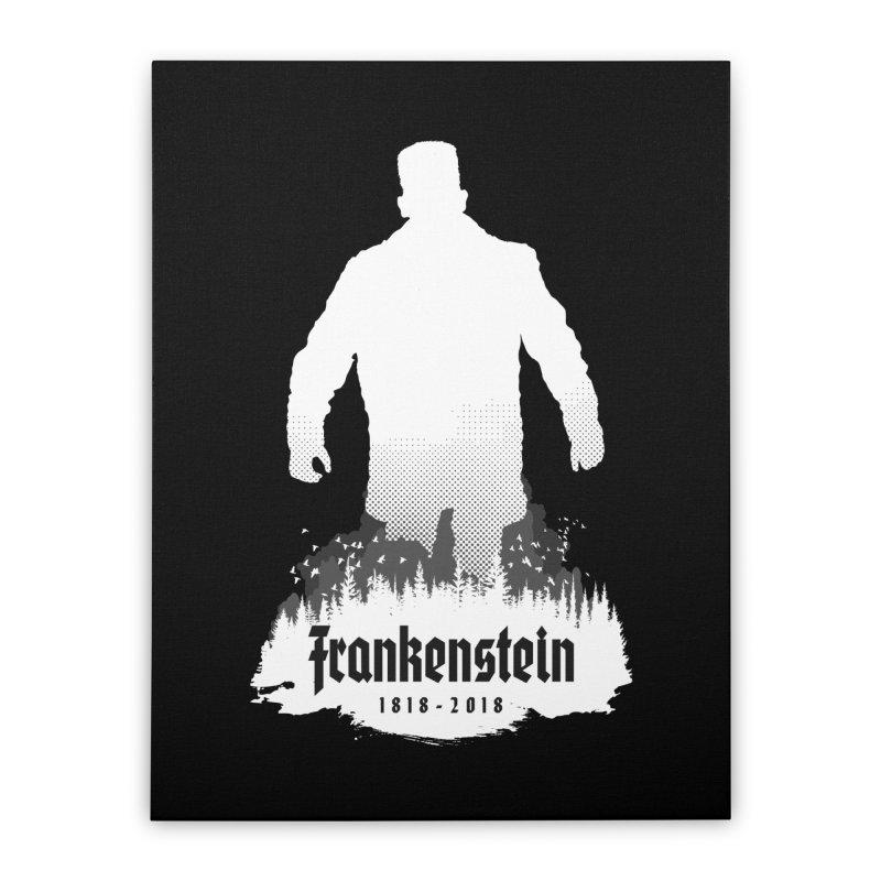 Frankenstein 1818-2018 - 200th Anniversary INV Home Stretched Canvas by Grandio Design Artist Shop