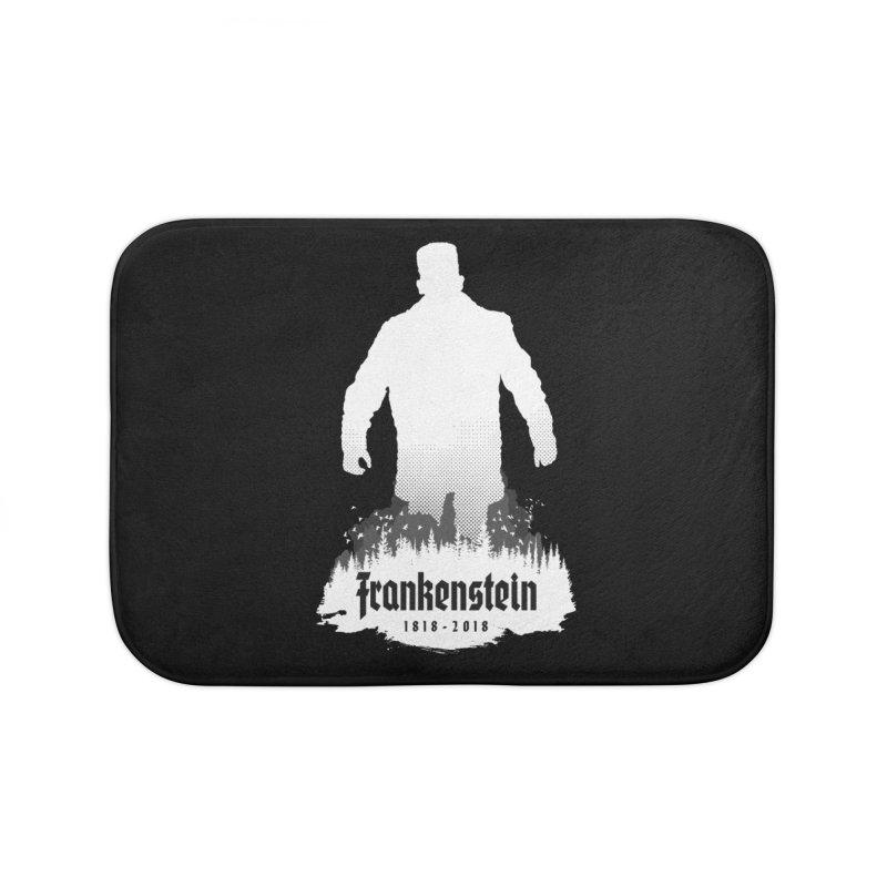 Frankenstein 1818-2018 - 200th Anniversary INV Home Bath Mat by Grandio Design Artist Shop