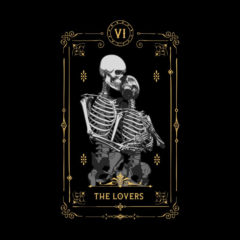 The Lovers VI Tarot Card by Grandio Design Artist Shop
