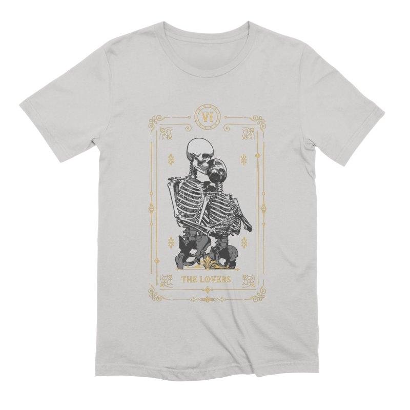 The Lovers VI Tarot Card Men's Extra Soft T-Shirt by Grandio Design Artist Shop