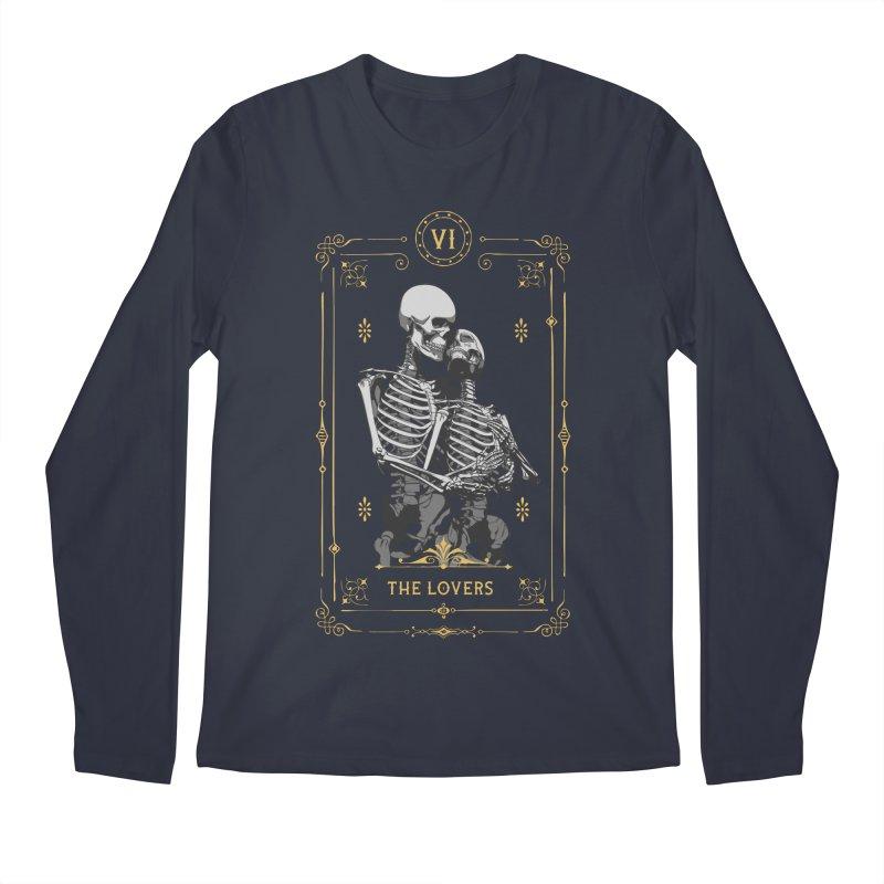 The Lovers VI Tarot Card Men's Regular Longsleeve T-Shirt by Grandio Design Artist Shop