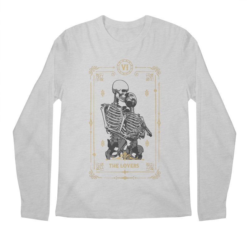 The Lovers VI Tarot Card Men's Regular Longsleeve T-Shirt by Grandio Design Artist Shop
