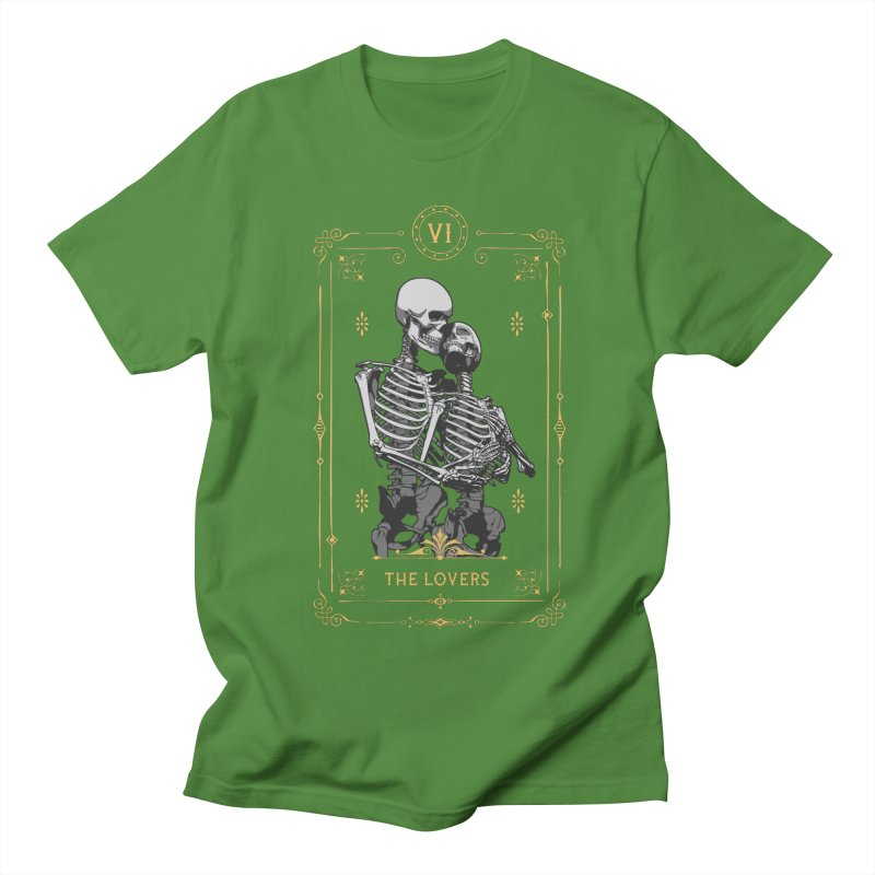 The Lovers VI Tarot Card Men's Regular T-Shirt by Grandio Design Artist Shop