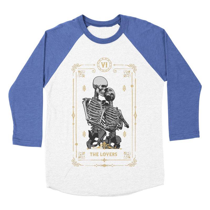 The Lovers VI Tarot Card Women's Baseball Triblend Longsleeve T-Shirt by Grandio Design Artist Shop