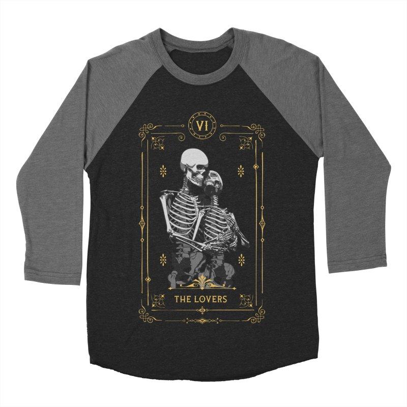 The Lovers VI Tarot Card Men's Baseball Triblend Longsleeve T-Shirt by Grandio Design Artist Shop