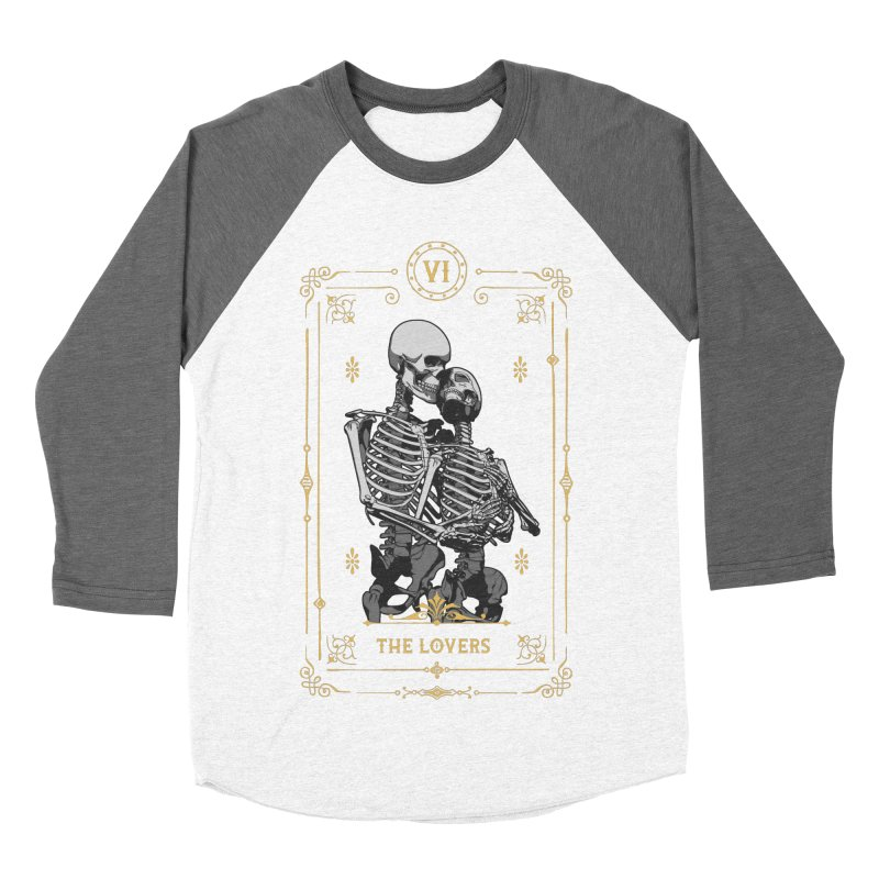 The Lovers VI Tarot Card Men's Baseball Triblend Longsleeve T-Shirt by Grandio Design Artist Shop