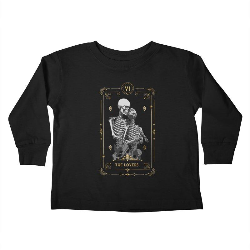 The Lovers VI Tarot Card Kids Toddler Longsleeve T-Shirt by Grandio Design Artist Shop