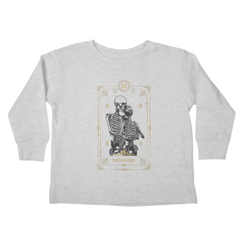 The Lovers VI Tarot Card Kids Toddler Longsleeve T-Shirt by Grandio Design Artist Shop