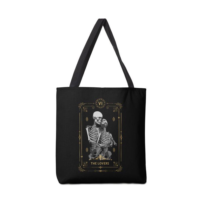 The Lovers VI Tarot Card Accessories Bag by Grandio Design Artist Shop