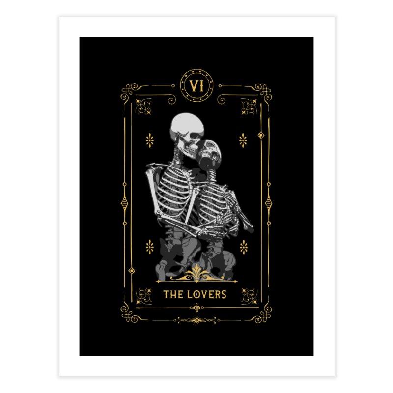 The Lovers VI Tarot Card Home Fine Art Print by Grandio Design Artist Shop