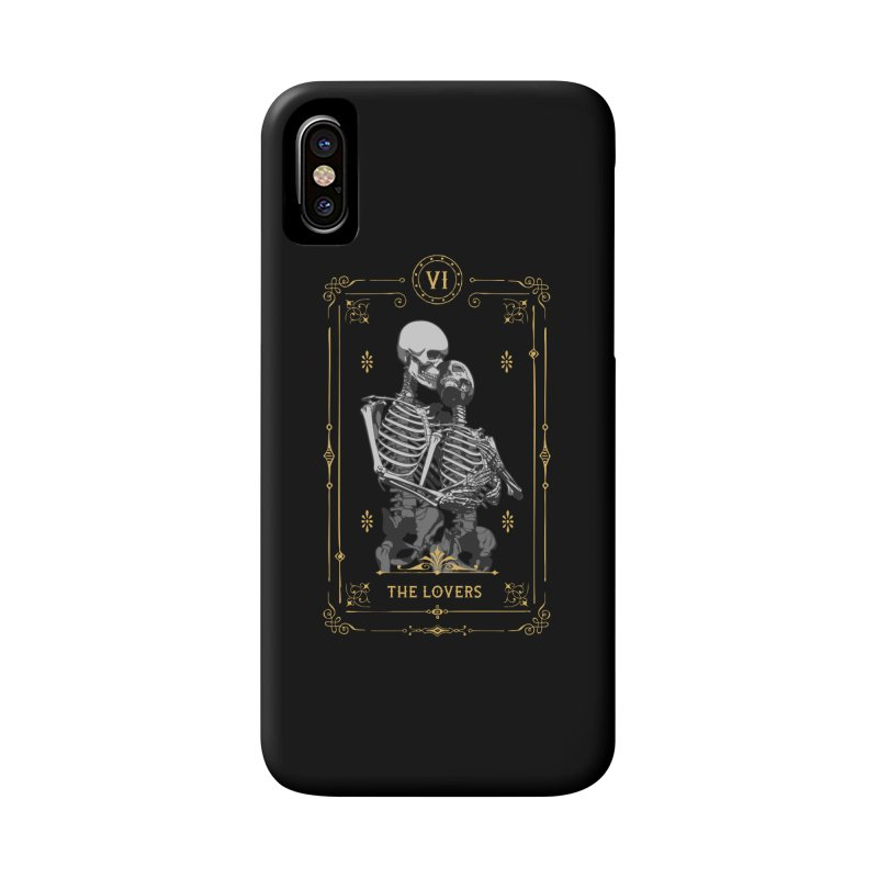 The Lovers VI Tarot Card Accessories Phone Case by Grandio Design Artist Shop