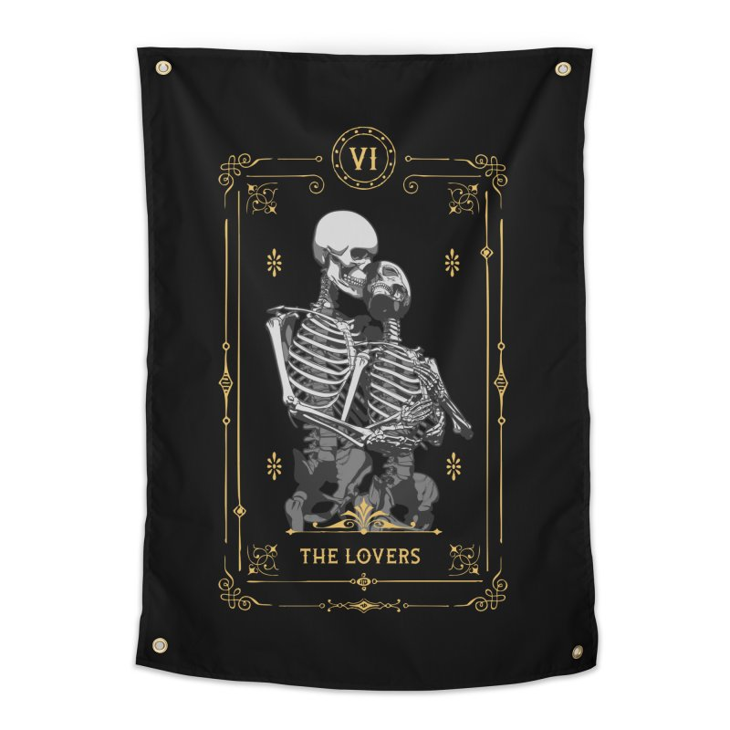 The Lovers VI Tarot Card Home Tapestry by Grandio Design Artist Shop