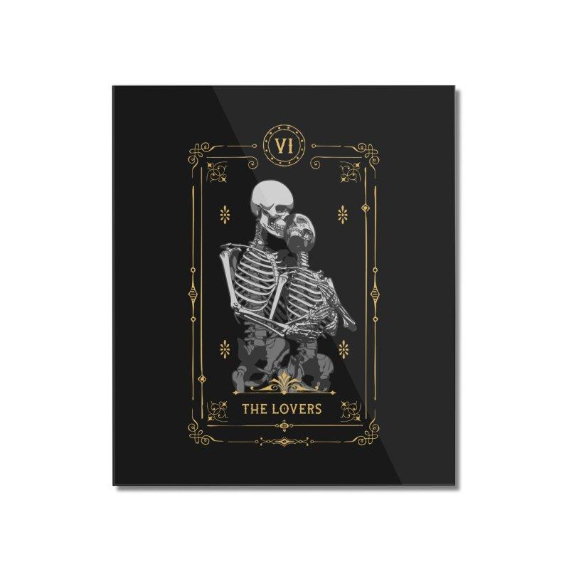 The Lovers VI Tarot Card Home Mounted Acrylic Print by Grandio Design Artist Shop