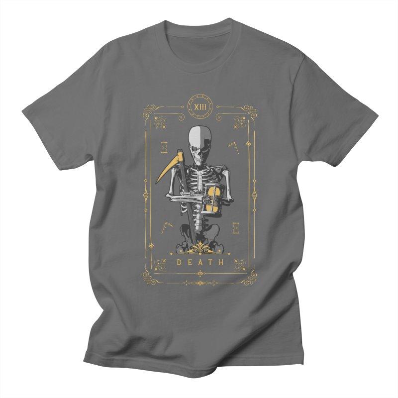 Death XIII Tarot Card Women's Regular Unisex T-Shirt by Grandio Design Artist Shop