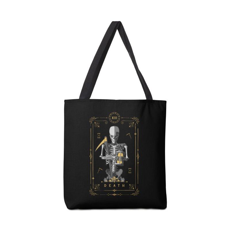 Death XIII Tarot Card Accessories Bag by Grandio Design Artist Shop
