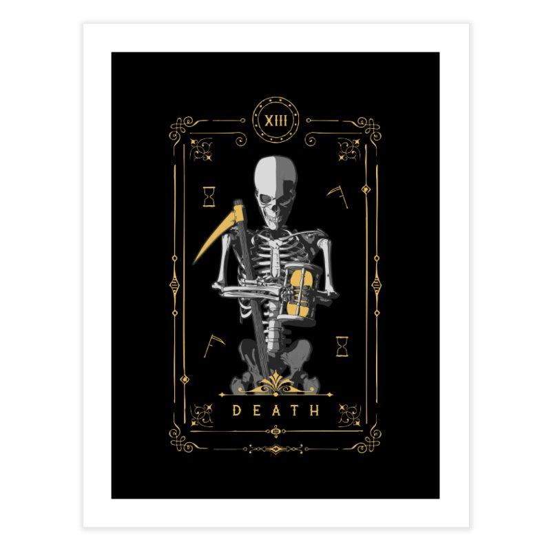Death XIII Tarot Card Home Fine Art Print by Grandio Design Artist Shop