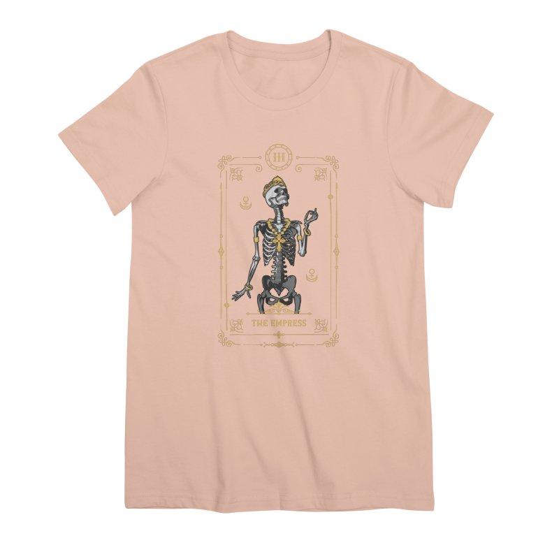 The Empress III Tarot Card Women's Premium T-Shirt by Grandio Design Artist Shop