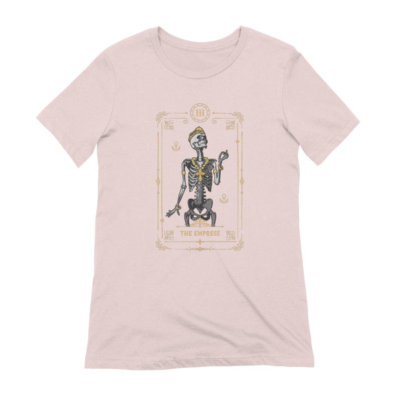 The Empress III Tarot Card Women's Extra Soft T-Shirt by Grandio Design Artist Shop