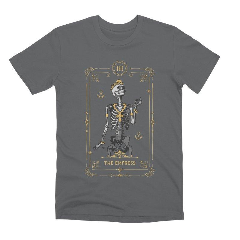 The Empress III Tarot Card Men's Premium T-Shirt by Grandio Design Artist Shop
