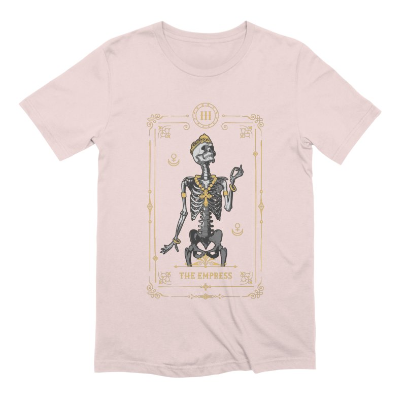 The Empress III Tarot Card Men's Extra Soft T-Shirt by Grandio Design Artist Shop