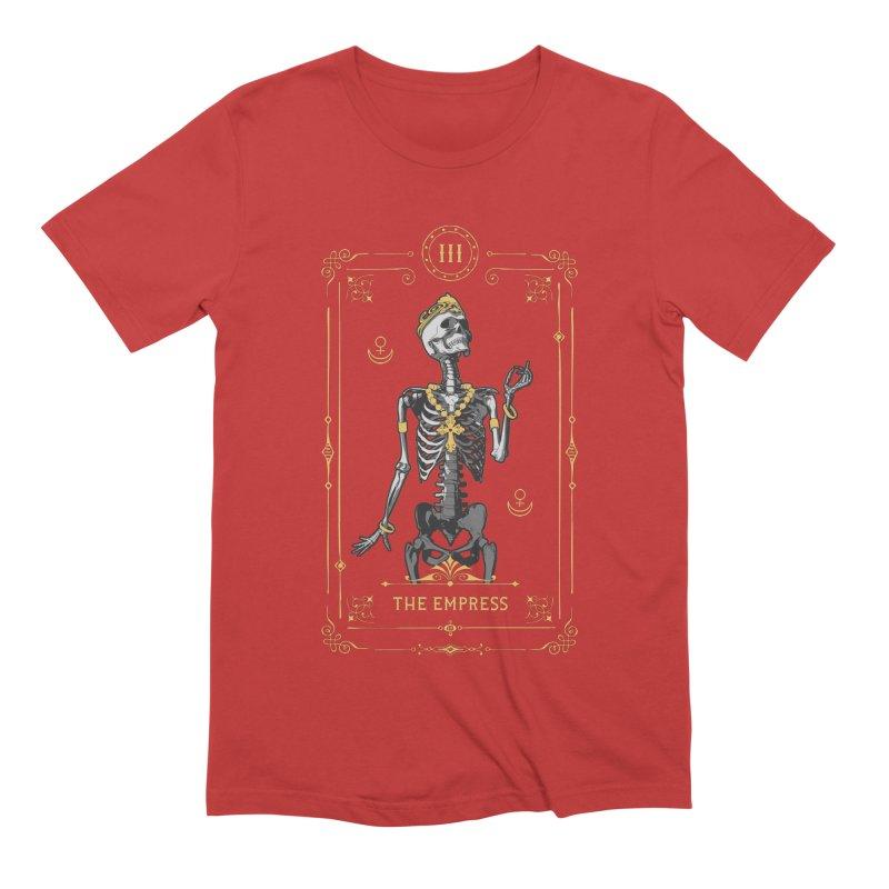 The Empress III Tarot Card Men's Extra Soft T-Shirt by Grandio Design Artist Shop