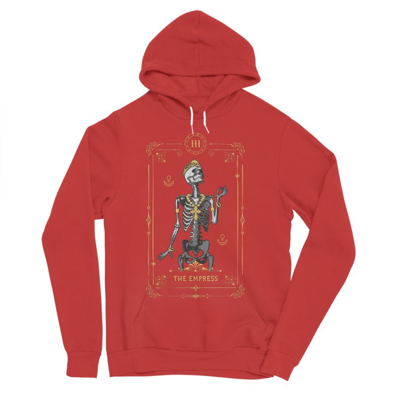 The Empress III Tarot Card Women's Sponge Fleece Pullover Hoody by Grandio Design Artist Shop
