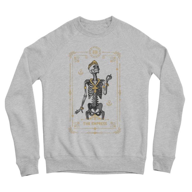 The Empress III Tarot Card Women's Sponge Fleece Sweatshirt by Grandio Design Artist Shop