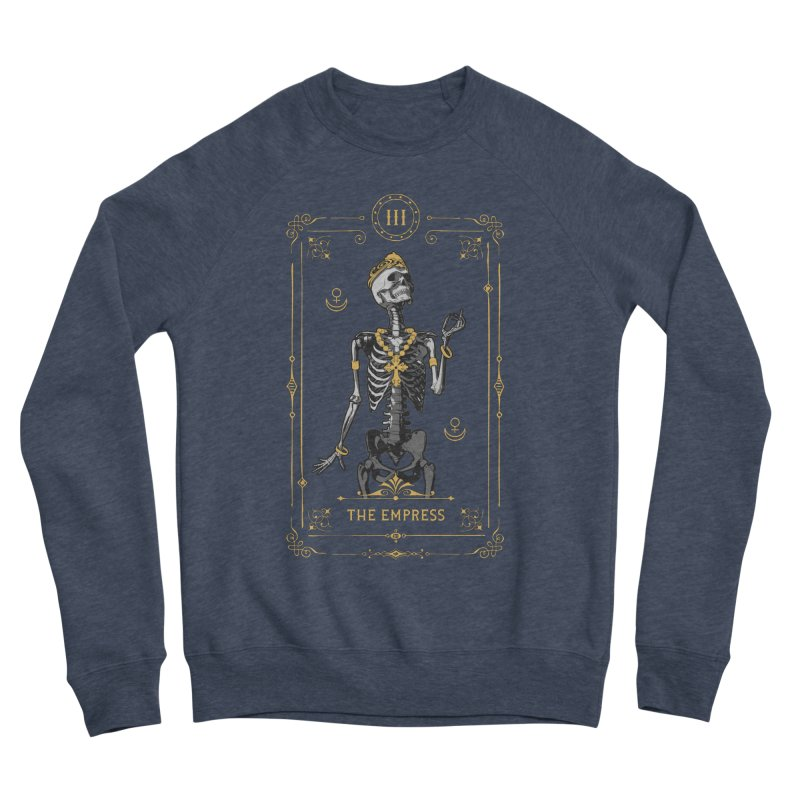 The Empress III Tarot Card Men's Sponge Fleece Sweatshirt by Grandio Design Artist Shop