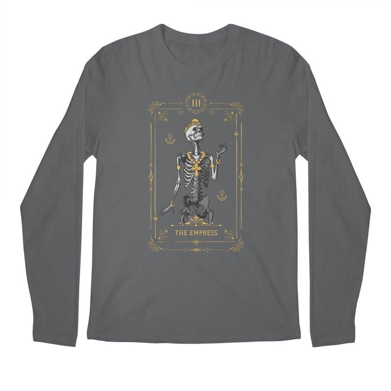The Empress III Tarot Card Men's Longsleeve T-Shirt by Grandio Design Artist Shop