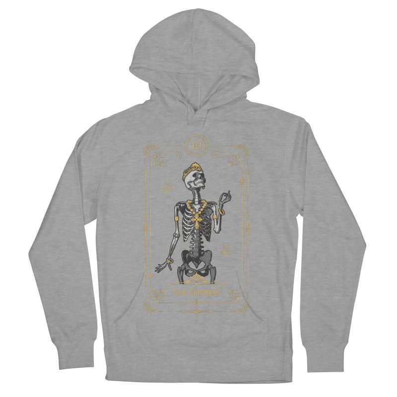 The Empress III Tarot Card Women's French Terry Pullover Hoody by Grandio Design Artist Shop