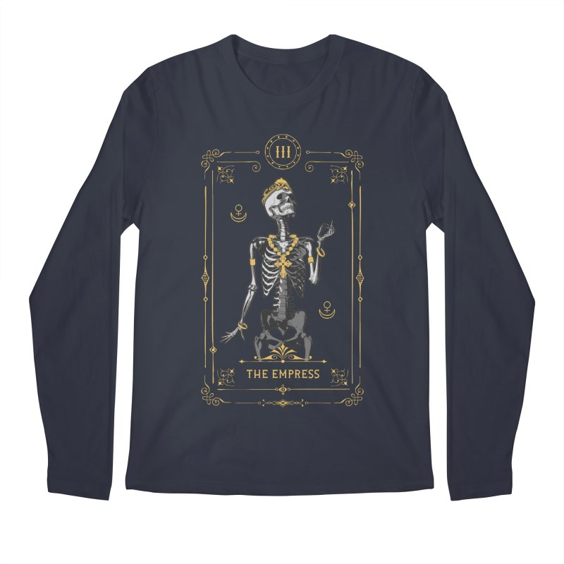 The Empress III Tarot Card Men's Regular Longsleeve T-Shirt by Grandio Design Artist Shop