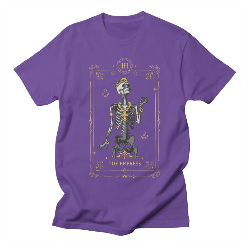 The Empress III Tarot Card Women's Regular Unisex T-Shirt by Grandio Design Artist Shop