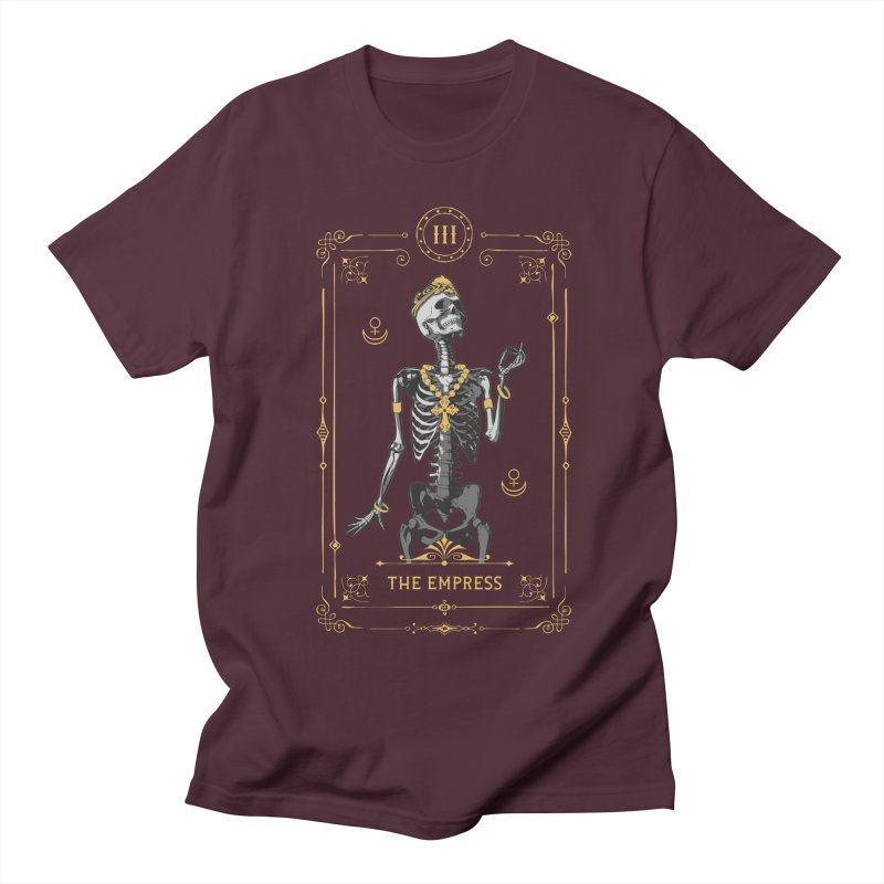 The Empress III Tarot Card Men's Regular T-Shirt by Grandio Design Artist Shop