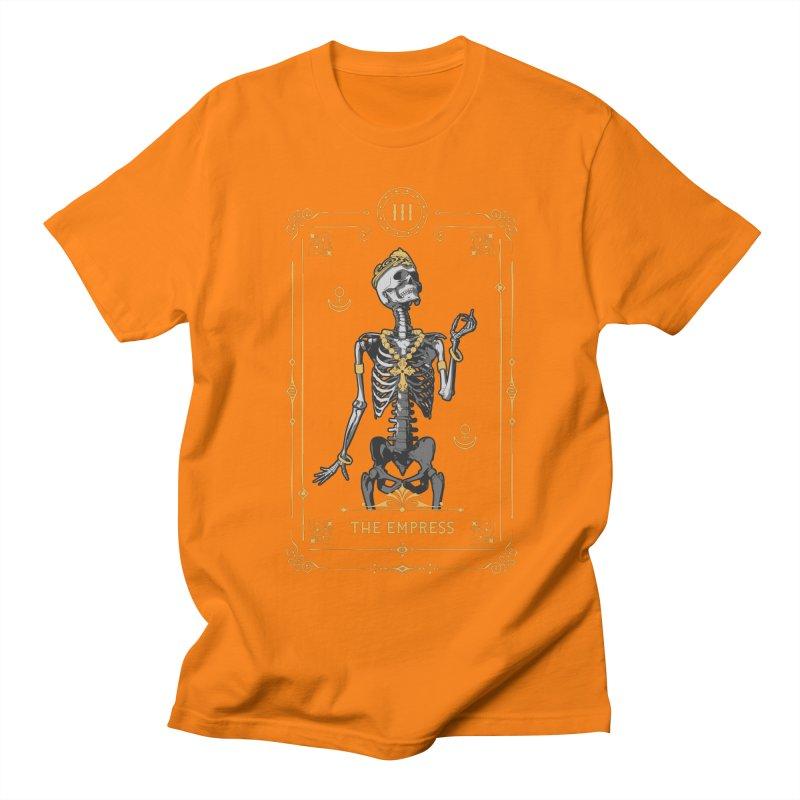 The Empress III Tarot Card Women's Regular Unisex T-Shirt by Grandio Design Artist Shop