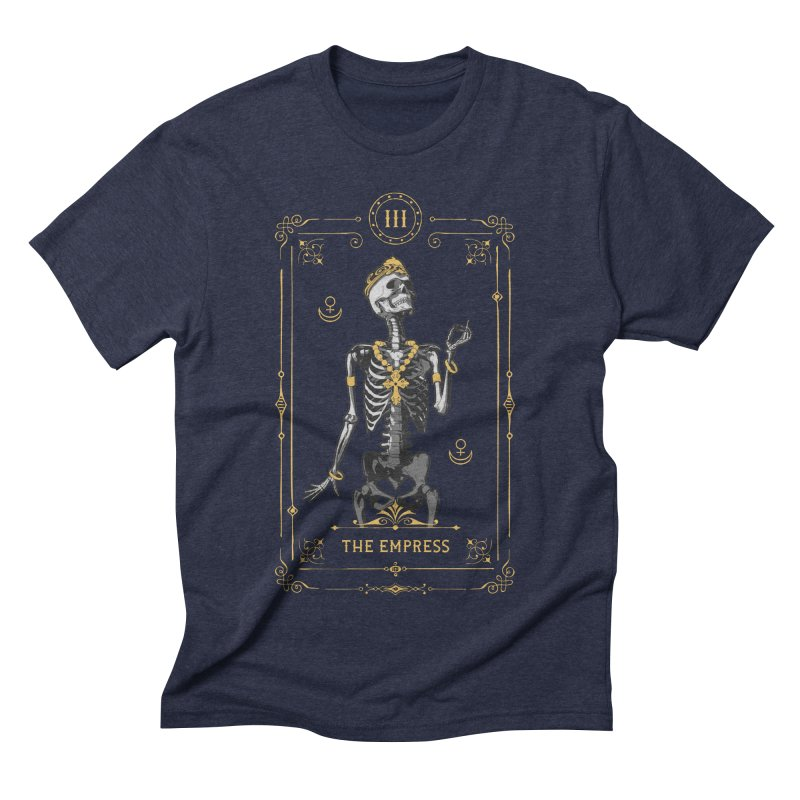 The Empress III Tarot Card Men's Triblend T-Shirt by Grandio Design Artist Shop
