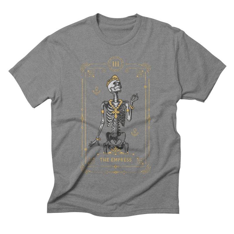 The Empress III Tarot Card Men's Triblend T-Shirt by Grandio Design Artist Shop