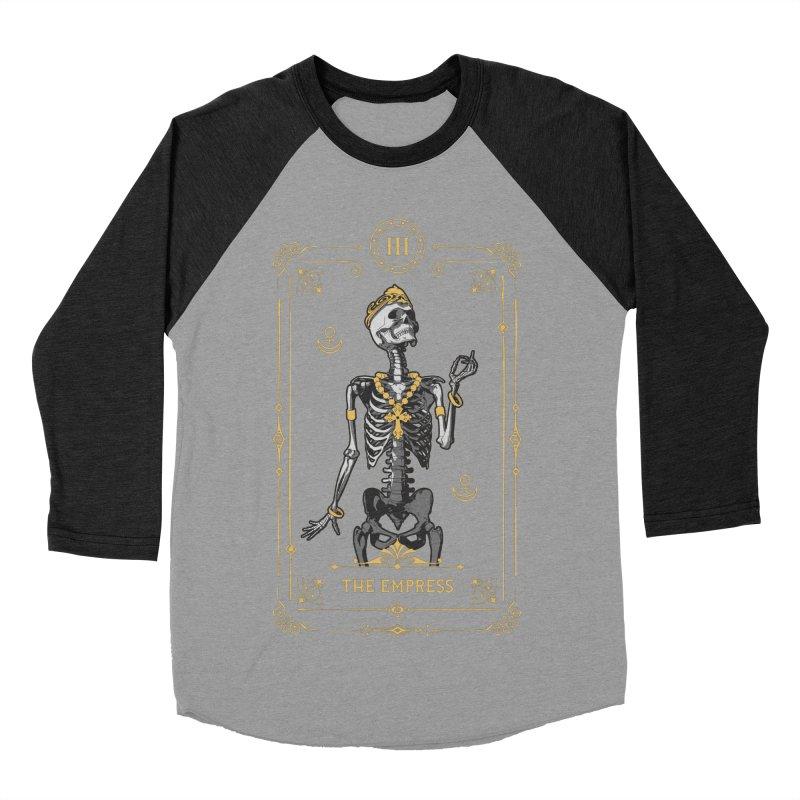 The Empress III Tarot Card Men's Baseball Triblend Longsleeve T-Shirt by Grandio Design Artist Shop