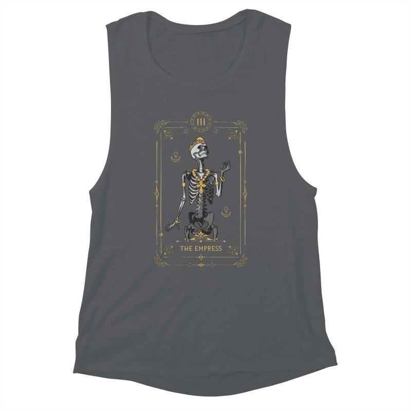 The Empress III Tarot Card Women's Muscle Tank by Grandio Design Artist Shop