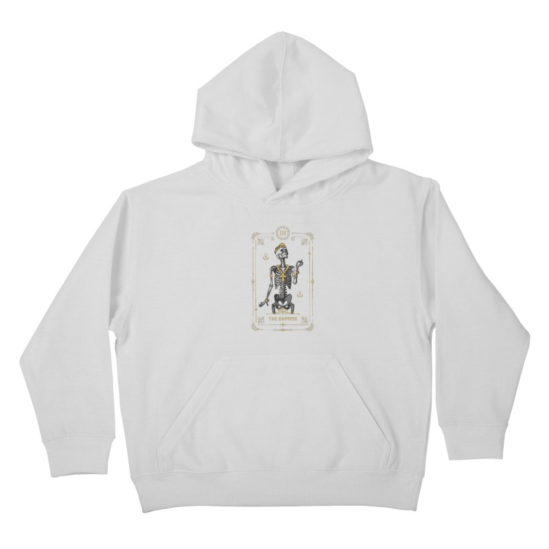 The Empress III Tarot Card Kids Pullover Hoody by Grandio Design Artist Shop