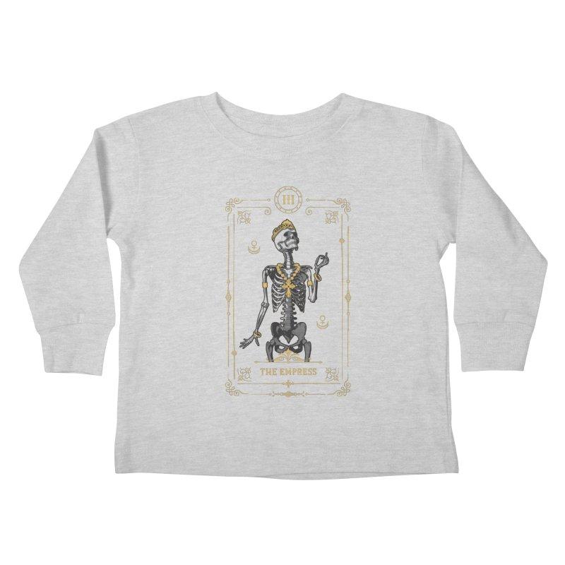 The Empress III Tarot Card Kids Toddler Longsleeve T-Shirt by Grandio Design Artist Shop