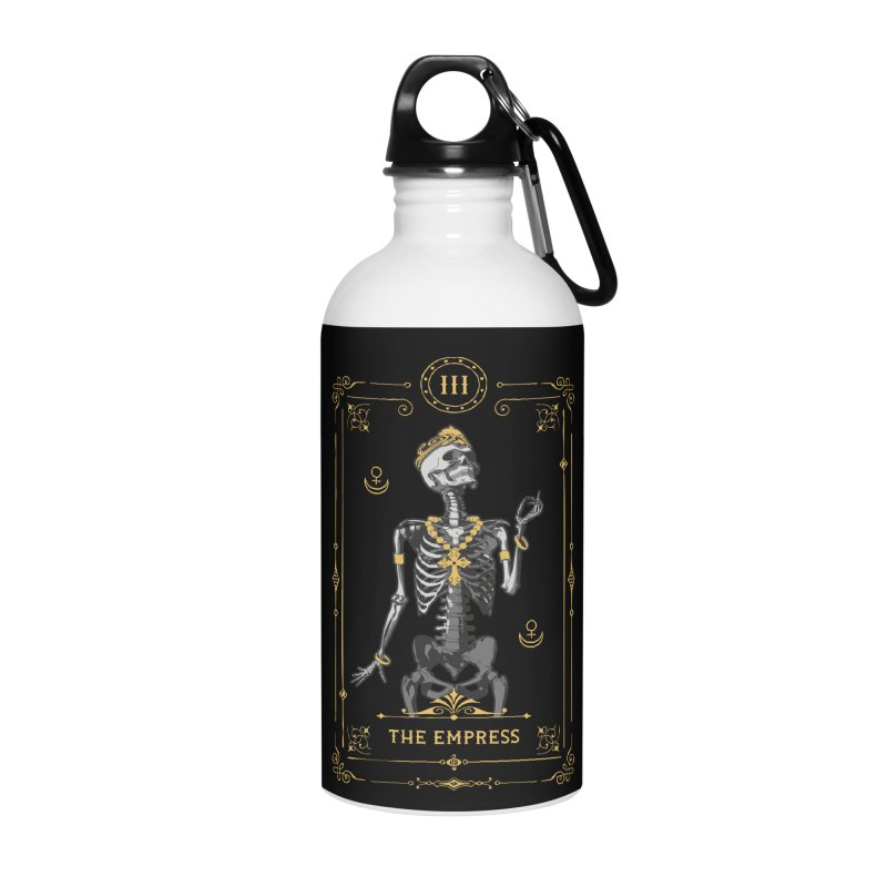 The Empress III Tarot Card Accessories Water Bottle by Grandio Design Artist Shop