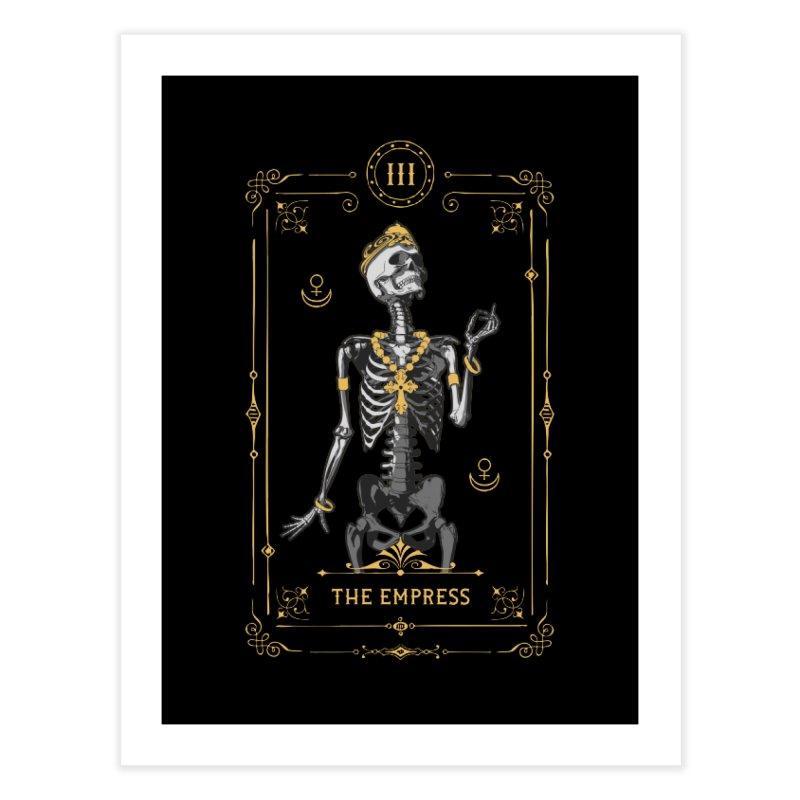 The Empress III Tarot Card Home Fine Art Print by Grandio Design Artist Shop