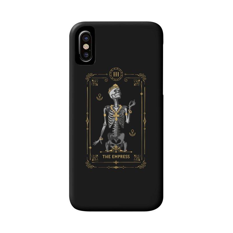 The Empress III Tarot Card Accessories Phone Case by Grandio Design Artist Shop