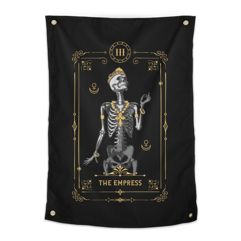 The Empress III Tarot Card Home Tapestry by Grandio Design Artist Shop