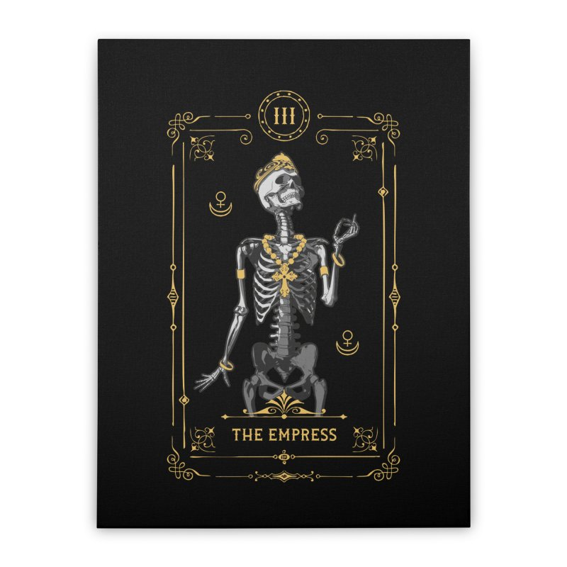 The Empress III Tarot Card Home Stretched Canvas by Grandio Design Artist Shop