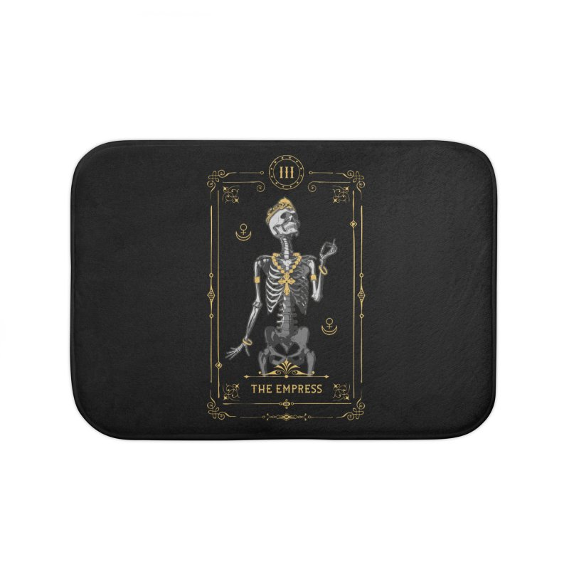 The Empress III Tarot Card Home Bath Mat by Grandio Design Artist Shop
