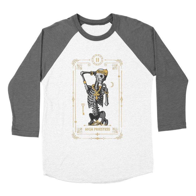 High Priestess II Tarot Card Women's Longsleeve T-Shirt by Grandio Design Artist Shop